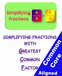simplifying fractions worksheets classroom caboodle
