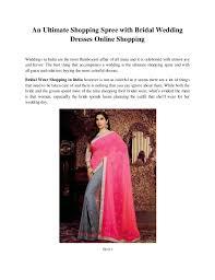 Wedding Dresses Online Shopping An Ultimate Shopping Spree With Bridal Wedding Dresses Online Shopping 1 638 Jpg Cb U003d1436976971