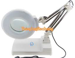 large magnifying glass with light 220v 15x large clip on magnifying glass l magnifier arm cap l