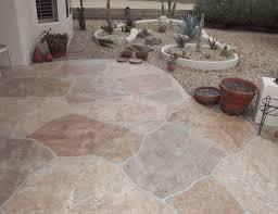 Rock Patio Design Decorative Patio Coatings Az Creative Surfaces 480 582 9191