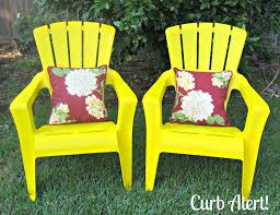 curb alert quick 15 minute update outdoor patio chairs