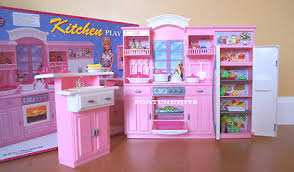 gloria dollhouse furniture full kitchen w refrigerator playset for