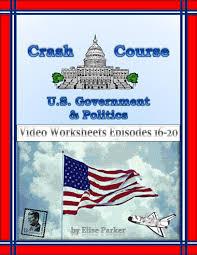 crash course u s government worksheets episodes 16 20 court