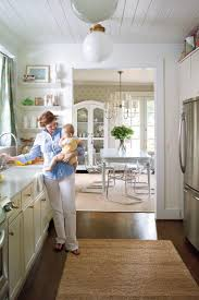 How To Make A Galley Kitchen Look Larger Before And After Kitchen Makeovers Southern Living