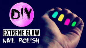 glow in the dark halloween party ideas diy glow in the dark nail polish better than store bought
