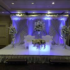 stage backdrops custom wedding stages and wedding backdrops