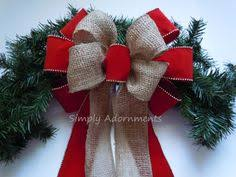 Decorative Christmas Bows Outdoor by Holiday Christmas Tree Or Wreath Bow 4
