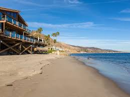 latigo beach house malibu secluded beachfront home on the sand