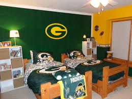 diy football rug for my son u0027s sports themed room go packers