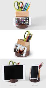 Pencil Holder For Desk Cute Cell Phone Holders For Desk Best Home Furniture Decoration