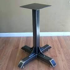 pedestal table base ideas farm table legs metal pedestal table legs table base ideas best