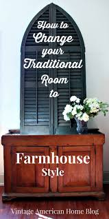 fixer upper farmhouse style update in just one room vintage