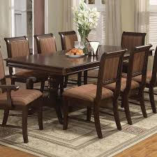 Crown Mark Louis Phillipe Double Pedestal Dining Table With One - Dining room table