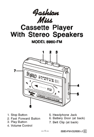 Casette Greenhouse by Cassette Player Users Guides From