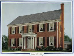 Colonial Revival House Plans Bilt Well Homes Of Comfort Bw 4204 Brick Colonial Revi U2026 Flickr