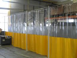 Industrial Curtain Wall Haagh Protection Bv Product Industrial Pvc Curtains