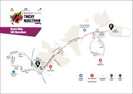 Map Your Running Route by Route Map Kauvery Hospital Trichy Marathon