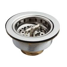 Strainer Basket With Wing Nut Stopper  Kitchen - Kitchen sink drain plug