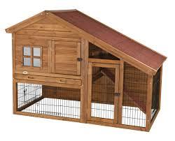 trixie natura small animal hutch with view u0026 reviews wayfair