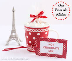 gifts from the kitchen ideas chocolate mix a spoonful of sugar