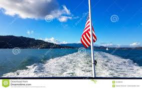 Blue Flag Yachts American Flag Boat Stock Photos Royalty Free Pictures