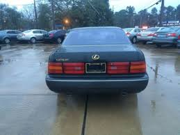 lexus used cars houston 1993 used lexus ls 400 at car guys serving houston tx iid 14579987