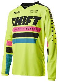 shift motocross helmets shift recon phoenix jersey cycle gear