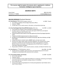 Army Infantry Resume Examples by Resume Army Free Resume Example And Writing Download