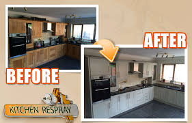 how much does it cost to respray kitchen cabinets how do you benefit from respraying your kitchen