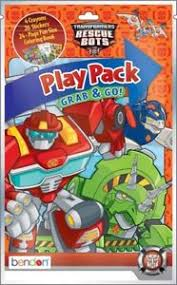 transformer rescue bots party supplies transformers grab and go play pack party favors rescue bots