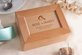 wedding gift keepsake box personalised wooden wedding gift keepsake box imbusy for
