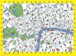 london detailed landmark map london maps top tourist