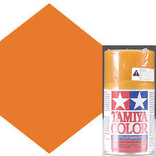 tamiya spray color for polycarbonate ps 43 translucent orange