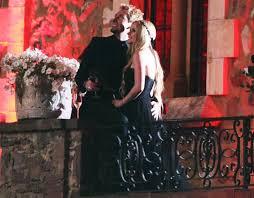 avril lavigne black wedding dress avril lavigne marries chad kroeger in black dress ny daily