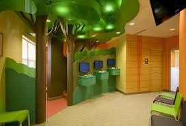 creative use of 3form resin products in a pediatric dentist office
