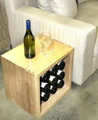 wine rack side table wine rack side table wine rack small sideboard with side table