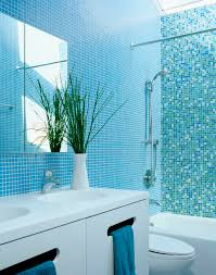 blue bathroom bathed in color when to use blue in the bath