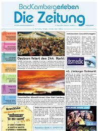 Arzt Bad Camberg Badcamberg Erleben Kw 34 27 08 2010 Die Zeitung Als E Paper