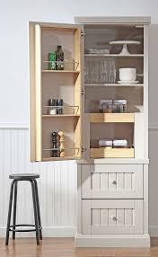 Narrow Kitchen Pantry Cabinet Kitchen Pantries Cabinets Seal Harbor Pantry Assemble 26
