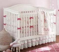 Pottery Barn Ruffle Crib Skirt 28 Best Nursery Decor Images On Pinterest Baby Rooms
