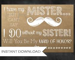 will you be my of honor ideas rustic bridesmaid ask for the will you be my of
