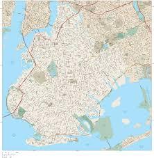 Edd Maps Brooklyn Vector Map Adobe Illustrator Vector Format U2013 Map Resources