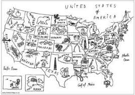 Usa Coloring Pages Coloring Page Of Us Map by Usa Coloring Pages