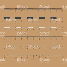 Map Scales Vector Map Scales Graphics For Measuring Distances Map Scales S
