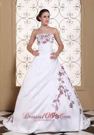 and white wedding dresses colour wedding dresses white wedding dress with wine purple
