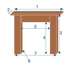 Standard Fireplace Dimensions by Porchester Suite Stone Fireplace Surround Brighton Chimney Sweeps
