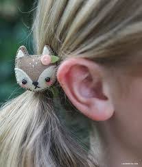 felt hair accessories mini felt animal hair accessories lia griffith