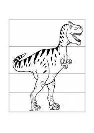 snapshot image of dinosaur cut and paste activity teaching my
