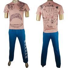 T Shirt Halloween Movie Squad Joker Jared Leto T Shirt Pants