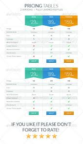 best 25 pricing table ideas on pinterest table template data